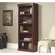 heritage hill 5 shelf library bookcase
