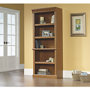orchard hills 5 shelf library bookcase