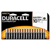 duracell aaa 16pack batteries