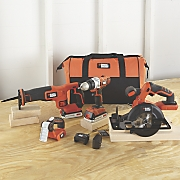 4 tool combo kit by black   decker