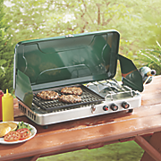 propane stove and grill combo by century
