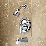 single handle tub shower fixture