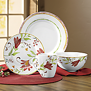 16-Piece Italian Cypress Dinnerware Set by Oneida
