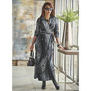 iyanni faux wrap dress
