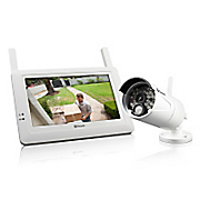 High-Definition Wireless Security Camera/Monitor and Additional Camera by Swann