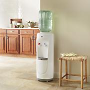 floor water cooler and dispenser by montgomery ward