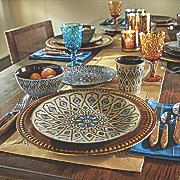 16-Piece Mosaic Dinnerware Set