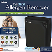 large hepa allergen remover console by holmes
