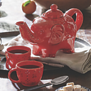 Elephant Teapot and Cups