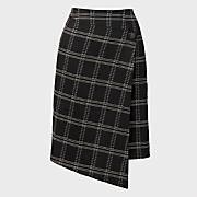 window pane skirt 25