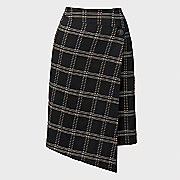 window pane skirt 25