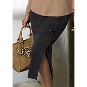 to tweed or not midi skirt