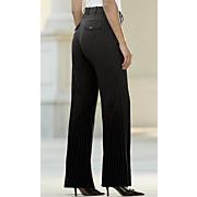 audrey pinstripe trouser short
