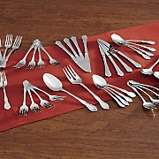 42-Piece True Rose Flatware Set by Oneida