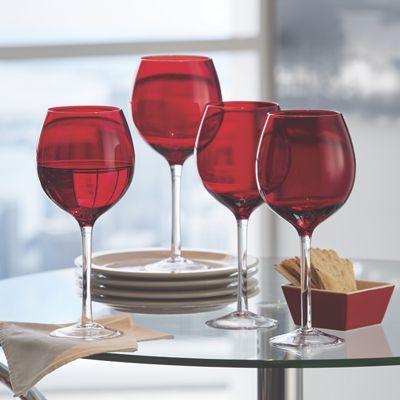 Set of 4 Tuscana Red Wine Glasses