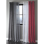 sparkle sheer grommet panel