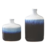 small and large jug vases