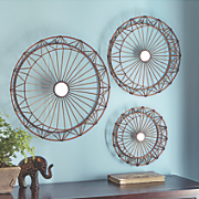 set of 3 spoke mirrors