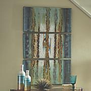 3 pc  sea art triptych