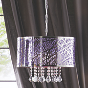 Purple Chandelier