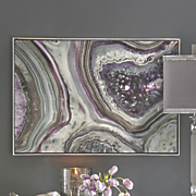 Purple Agate Print