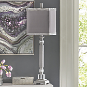 Silver Bead Lamp