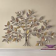 Iron Tree Wall Art