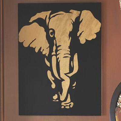 Elephant Wall Dcor from Midnight Velvet VR739926