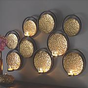 Circles Wall Candleholder