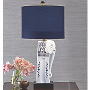 ceramic elephant lamp