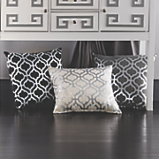 Silver Grille Pillow