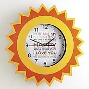 you are my sunshine clock