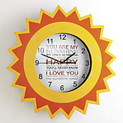 You Are My Sunshine Clock
