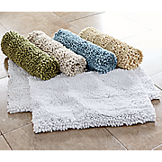 Puff Chenille 2-Piece Bath Mat Set