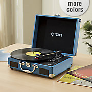 vinyl motion suitcase by ion