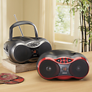 cd boom box with am fm radio by akai