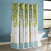 Forest Study Shower Curtain