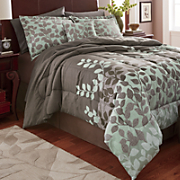 Greenfield Comforter Set, Decorative Pillow and Window Treatments