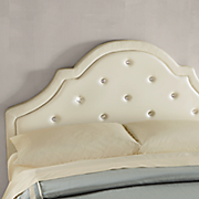crystal full headboard