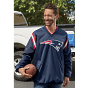 men s nfl bullpen v neck pullover