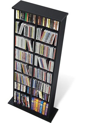 Double Media Storage Tower