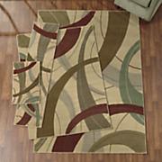 4 pc  infinity rug set