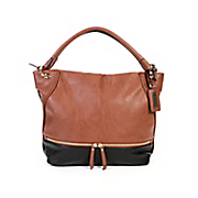 zipper hobo tote by hush puppies