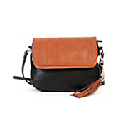 zipper flap cross body by hush puppies
