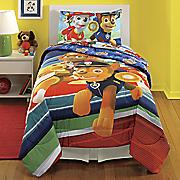 paw patrol puppy hero comforter and sheet set