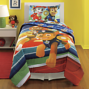 paw patrol puppy hero comforter and sheet set
