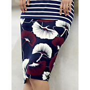 eastern bloom pencil skirt