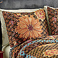 Rustic Harvest Woven Tapestry Sham