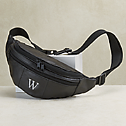 personalized 3 zipper leather bike bag