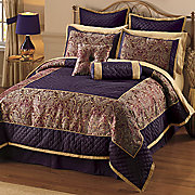 Juliette 12-Piece Bed Set and Window Treatments